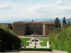 Pitti Palace from Boboli Gardens