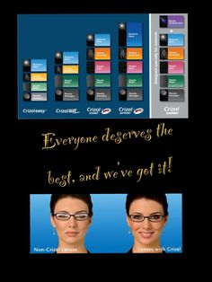 anti-reflective coating! Always recommended!