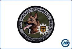 Abzeichen Diensthundegruppe BGSI Giessen Malinois