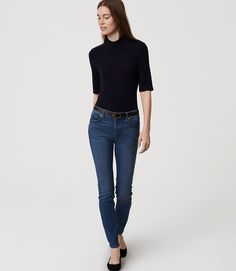 Primary Image of Modern Skinny Ankle Jeans in Original Medium Stonewash