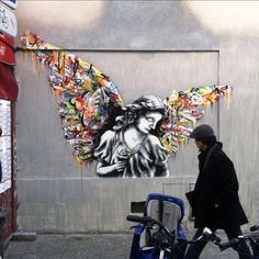 Paint Love – Street art by Martin Whatson (image)