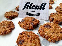 Extrémně jednoduché cookies s kousky čokolády (Recept)