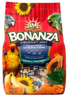 L&M Animal Farms has responded to the dietary needs of your bird by creating Parrot Bonanza, a gourmet blend that helps your bird maintain his health and na Complete Nutrition, Different Fruits, Parrot Bird, Bird Food, Animal Farms, Balanced Diet, Fruits And Veggies, Vegetables, Diet Tips