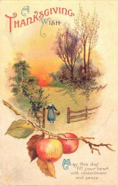 """ A Thanksgiving Wish For You "" Vintage 1914 Artist Ellen Clapsaddle Post Card. Thanksgiving Pictures, Thanksgiving Blessings, Thanksgiving Greetings, Vintage Thanksgiving, Vintage Fall, Thanksgiving Crafts, Vintage Holiday, Vintage Halloween, Thanksgiving Posters"
