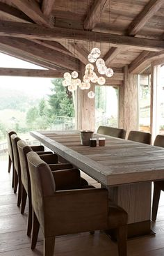 Chalet Rustic Modern Home - Beautiful Interiors Chalet Design, House Design, Chalet Interior, Interior Design Living Room, Interior Wood Stain Colors, Rustic Design, Beautiful Interiors, Modern Rustic, Sweet Home