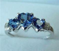 Blue Sapphire Ring.