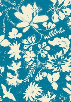 Surface Pattern Design, Pattern Art, Pattern Paper, Pattern Flower, Textiles, Textile Patterns, Print Patterns, Floral Patterns, Motif Floral