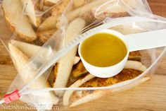 Oven Baked Potato Wedges-5