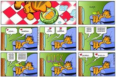 Garfield & Friends   The Garfield Daily Comic Strip for February 08th, 1998