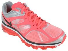 Nike Air Max+ 2012 Womens Running Shoes White/Anthracite-Hot Punch-Pure Platinum 487679-103 Nike. $159.95