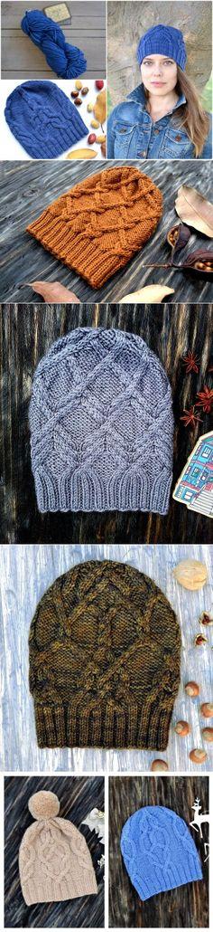 ru_knitting: Идеи | Шапки, шарфы, палантины... | Постила