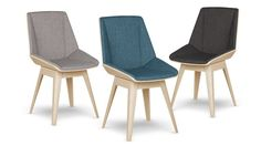 chaise dossier bois tissu 3couleurs nackka mobiliermoss