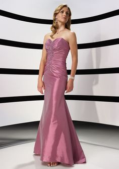 Pink Mother Of Brides Attire In Mermaid Design Beading Embellishment Sweetheart And Strapless