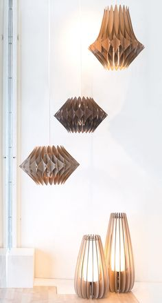 Diy Floor Lamp Elegant A Visit to Design that Fits. Diy Floor Lamp, Decorative Floor Lamps, Wood Floor Lamp, Lamp Design, Lighting Design, Luminaria Diy, Laser Cut Lamps, Origami Lamp, Design Industrial