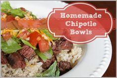 Homemade Chipotle Bowls