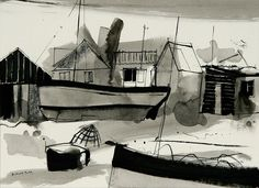 From Walberswick Ferry by Richard Tuff