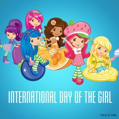 Today is International Day of the Girl.