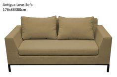 Antigua love seat - sand