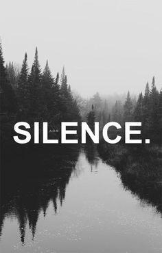 silence, black and white, and black Bild