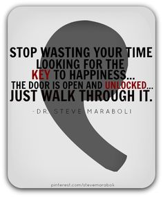 ...the key to happiness #quote