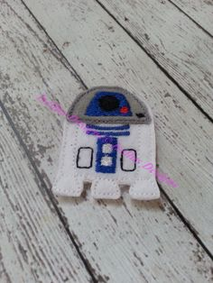4 Piece Star Fighter Robot Felties by IsellusDesigns on Etsy