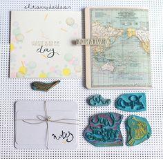 Ilustraciones increíbles hechas sellos en los talleres #mieventohandmade - El tarro de ideasEl tarro de ideas