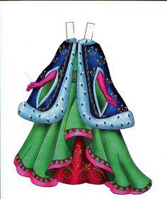 Paper Doll Costume, Paper Dolls, Alice In Wonderland, Fashion Art, Costumes, Christmas Ornaments, Ancient Greek, Disney Princess, Holiday Decor