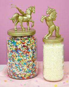 {VIDEO} DIY Unicorn Jars