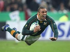 South Africa Scores A Try #Rugby