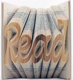 art made from books - Google Search