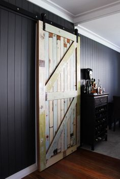 Projects - Lou Brown Design with Hayley Brown, Interior Designer, Auckland Bungalow Renovation, Renovations, Small Bathroom, Interior Styling, House Design, Interior, Room Paint, Wall Colors, Reclaimed Wood Door