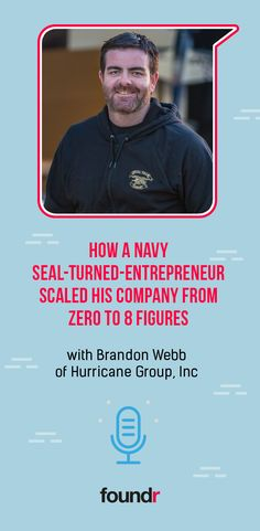 How a Navy Seal-Turned-Entrepreneur Scaled His Company Start Up Business, Starting A Business, Business Coaching, Successful Online Businesses, Successful People, Brandon Webb, Foundr Magazine, Email Subject Lines, Blog Names