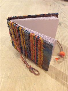 Book I made. Cover machine and hand embroidery.