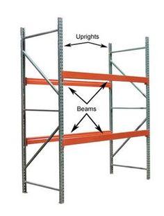 Standard Pallet Rack module. #palletrack #wh1