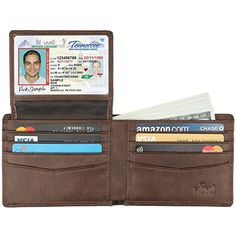 Fashionable And Attractive Packages Fashion Multiple Personalized Passport Holder Case Hotsale Online Leather Rfid Travel Passport Wallet customization Available