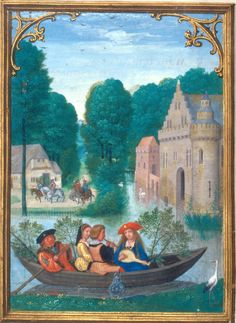 May - Da Costa Hours, in Latin Illuminated by Simon Bening (1483/84–1561)…