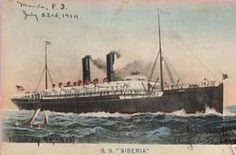 In 1911, John and his family sailed from Hong Kong to Kobe, Japan and then on to Honolulu on board the SS Siberia