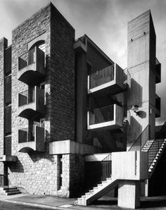 Housing scheme designed by Sir Basil Spence, Glover and Ferguson completed March 1969