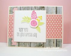 For You on Your Special Day card-designed by Lori Tecler/Inking Aloud-stamps and dies from WPlus9