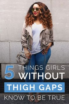 The worshipped thigh gap has long been both insulted and praised. Truth is, whether you have one or you don't... you're beautiful. But if you're like me and you can't even fit a piece of paper through your legs, then here are five things you know are true