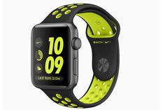 Apple Nike+ watch watch face and band #Apple #AppleWatch #Nike #running #fitness