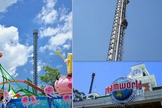 6. Tower of Terror II: 100 mph (160 km /h) Dreamworld, Coomera, Queensland Australia.  The Fastest Roller Coasters In The World - Tower of Terror II