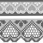 Filet Crochet, Knit Crochet, Diy And Crafts, Eyeshadow, Knitting, Decor, Crochet Lace, Crochet Stitches, Dish Towels