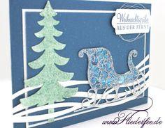 Guten Morgen, Ja ja, wochenlang konnte mich nichts und niemand in Weihnachtsstimmung versetzen und jetzt zeige ich Euch eine Weihnachtskarte nach der anderen. Eigentlich schon lustig, aber die Idee…