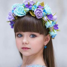 Would you like to dress up your daughter like this?