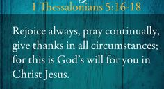 1 Thessalonians 5:16-18 (Good Morning Girls)