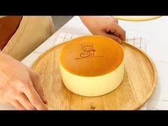 Fluffy Japanese Cheesecake - YouTube Japanese Fluffy Cheesecake, Japanese Cheescake, Japanese Cheesecake Recipes, Japanese Cake, Japanese Recipes, Sponge Cake Recipes, Bakery Recipes, Dessert Recipes, Japanese Desserts