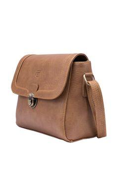 Túi đeo chéo Eva màu lợt - Thương hiệu Lee&Tee