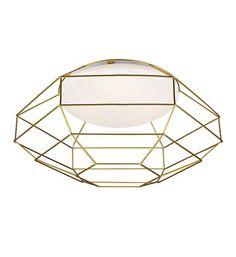 Markslöjd AB - Product Standard Item - NEST Plafond White/Golden - NEST Plafond White/Golden