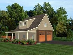 Garage Plan 50617 Elevation